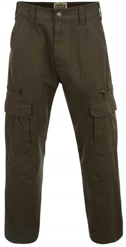 Kam Cargo Combat Pants Length 34'' (Available from Size 44 to 52)