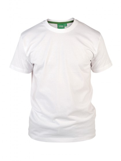 D555 Crew Neck T-Shirt White