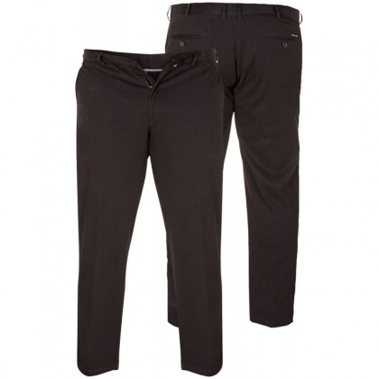 BRUNO STONE- D555 Stretch Chino Pant With Extenda Waist Length 34'' (Available from Size 56 to 58)
