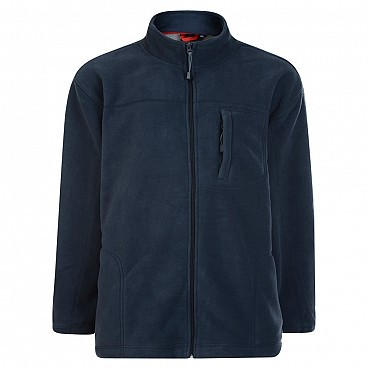 Espionage Big Men's Sherpa Zip Through Jacket