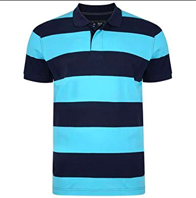Kam Striped Polo